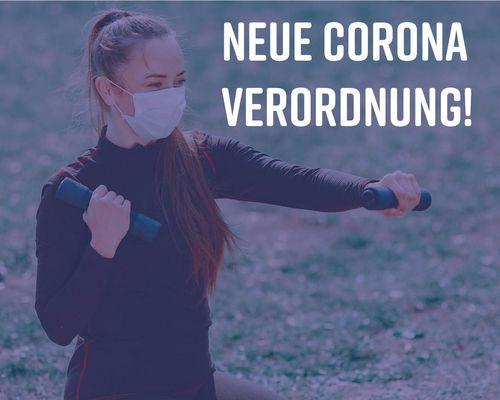 Geänderte Corona-Verordnung ab 16.8.21