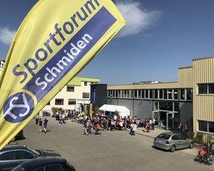 Sportforum: Offizielle Eröffnung mit Tag der offenen Tür