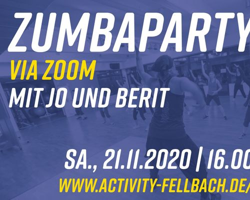 Lets Dance: ZUMBA Party via Zoom