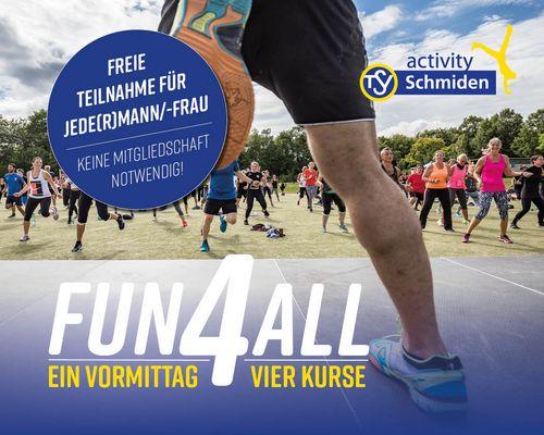 Jetzt vormerken: Fun4All am Samstag, den 7.8.21 ab 9.30 Uhr