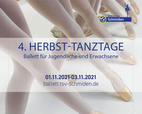 Herbst-Tanztage vom 01.11 - 03.11.21