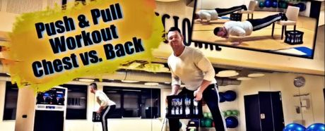 Online Kurs #7: Chest vs.Back Push & Pull