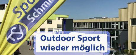 Outdoor Sport wieder erlaubt / NEUE Information zu Öffnungszeiten