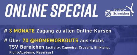 Online-Special zu Sonderkonditionen