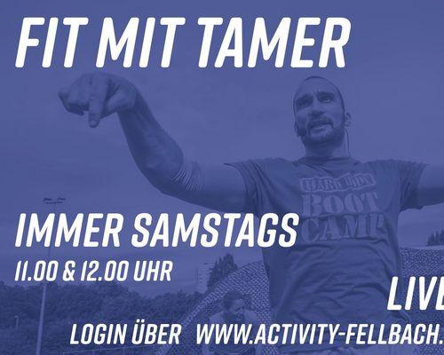 Fit mit Tamer | immer Samstags | auf Zoom