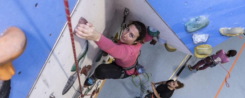 Toprope Klettern im TSV! Ab Freitag 06.11.2020 - 5 mal 3 Std